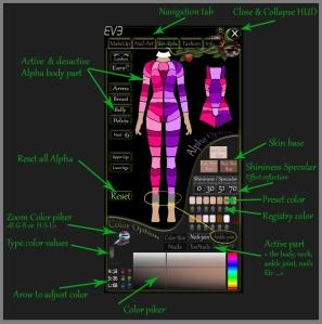 EVE Hud info