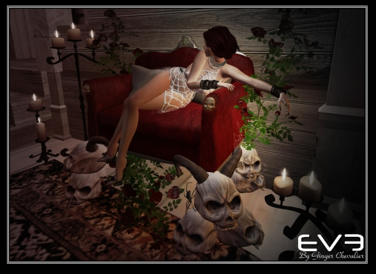 EVE Halloween sofa
