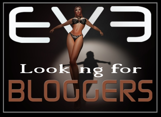 EVE-Looking for Bloggers ---