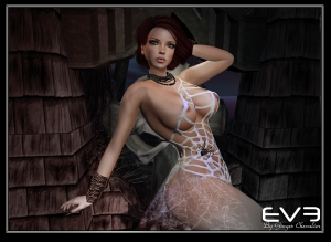 EVE-spider-web dress -3