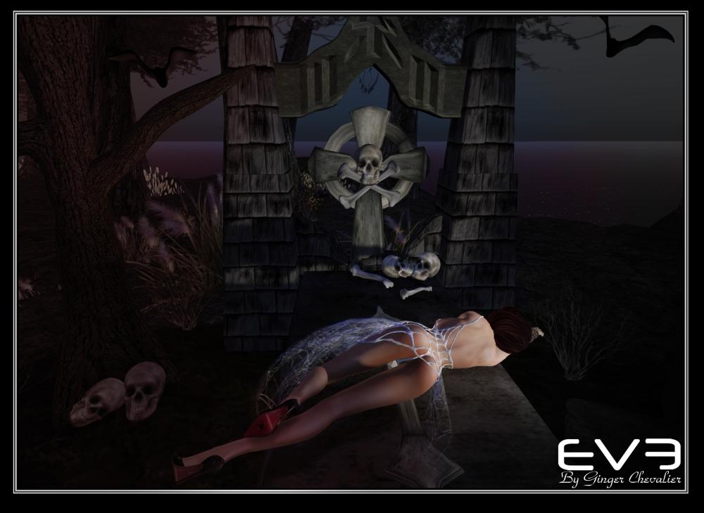 EVE-spider-web dress -4
