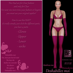 deshabillez-moi-how to use