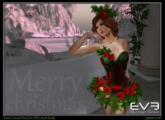 EVE-Corset Xmas