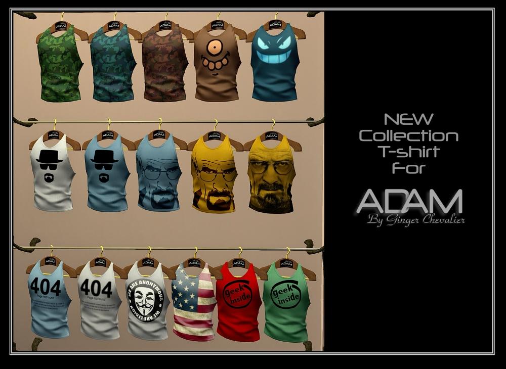ADAM NEW-t-shirt