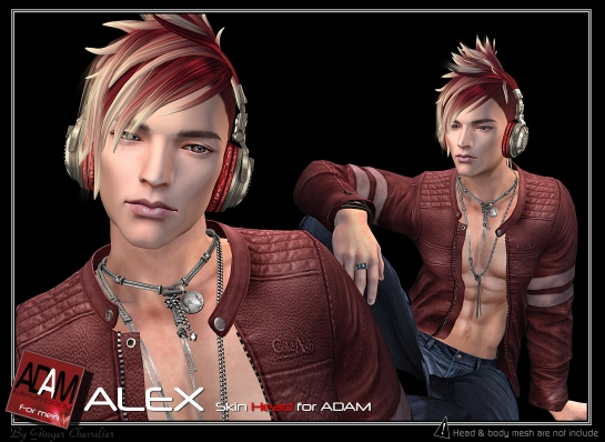 ADAM SKIN alex new