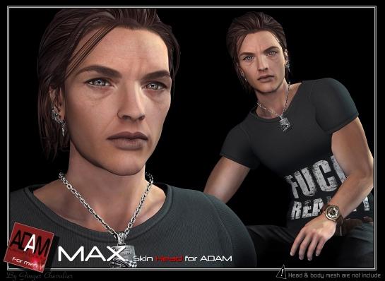 ADAM SKIN max