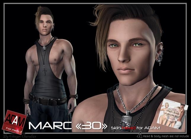 ADAM SKIN Marc 30 head-