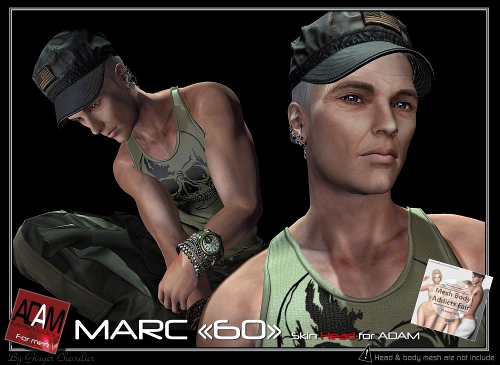 ADAM SKIN Marc 60 head-