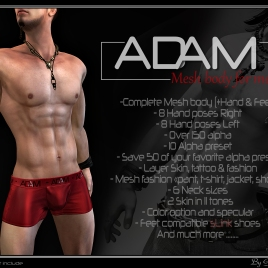 https://marketplace.secondlife.com/p/Adam-Mesh-body/8230495