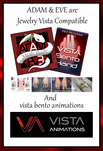 adam & eve are jewelry vista compatible