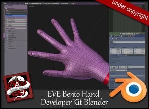 developer-KIT-EVE-hand