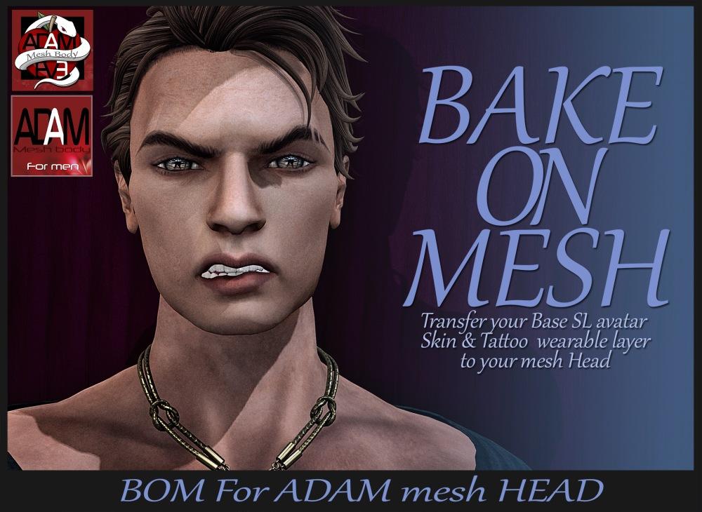 BOM ADAM head