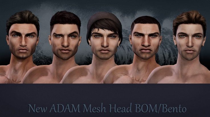 New ADAM mesh head BOM Bento -
