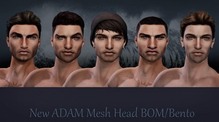 New ADAM mesh head BOM Bento -