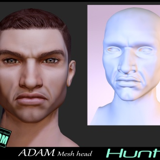 https://marketplace.secondlife.com/p/Adam-Mesh-Head2-Hunter-BOM-Bento/18335323