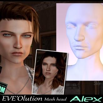 https://marketplace.secondlife.com/p/EVEOlution-ALEX-Mesh-head-BOM-Bento/18386062