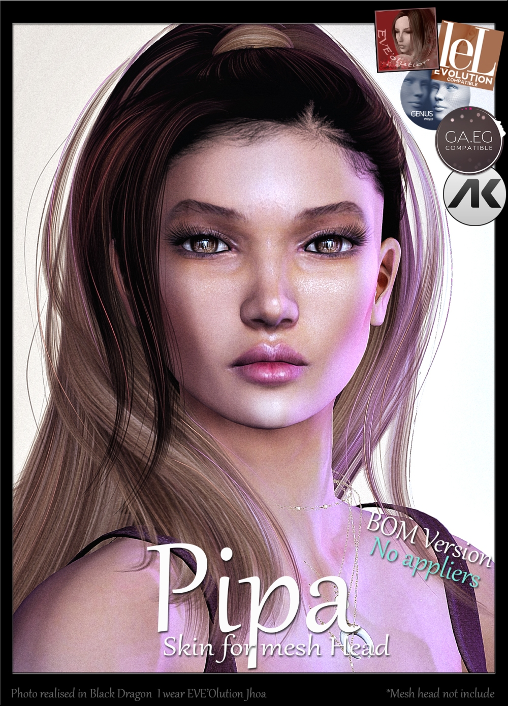 4-pipa pour skin eve-olution